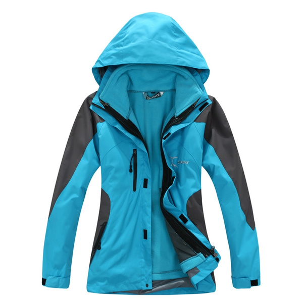 women sports clothing, waterproofwindproofjacket, Hiking, Outdoor