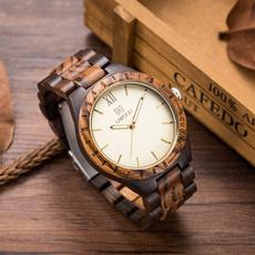 Wood, quartz, naturalwoodwatch, Mens Accessories