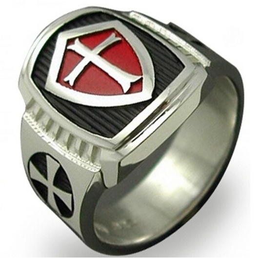 Steel, Stainless Steel, redcrossring, Jewelry