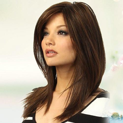 wig, hair, straightwig, mediumlongwig