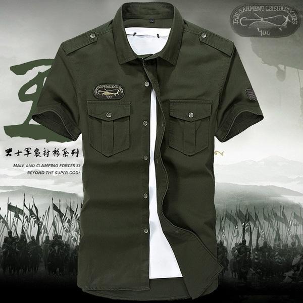 Summer, trending, Shirt, Army