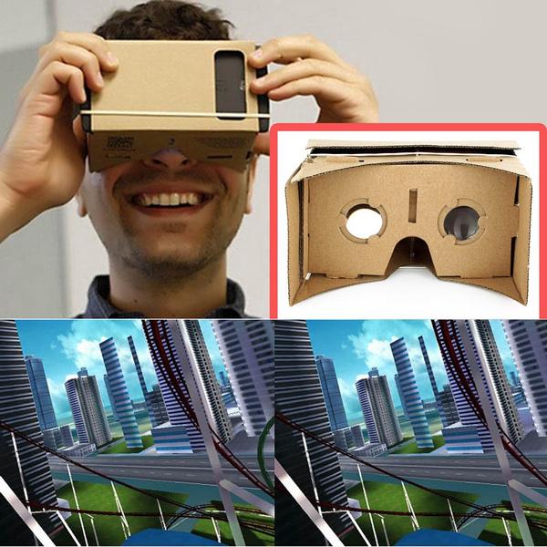 Google, 3dglasse, rubberband, cardboard3dglasse
