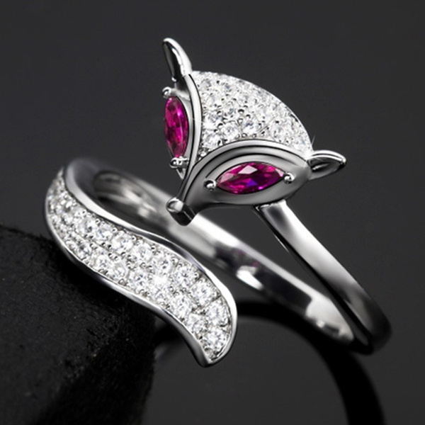 cute, Fashion, Jewelry, Fox