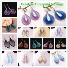 ethnicearring, silverleafearring, Women's Fashion & Accessories, Jewelry