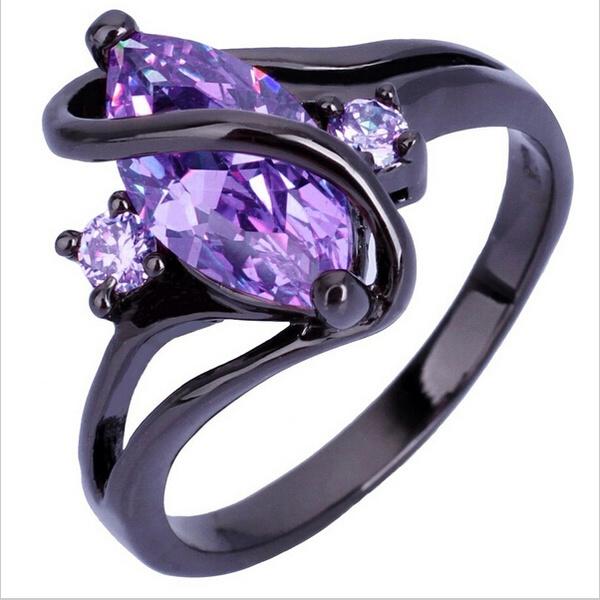 Cubic Zirconia, Fashion, wedding ring, 925 silver rings