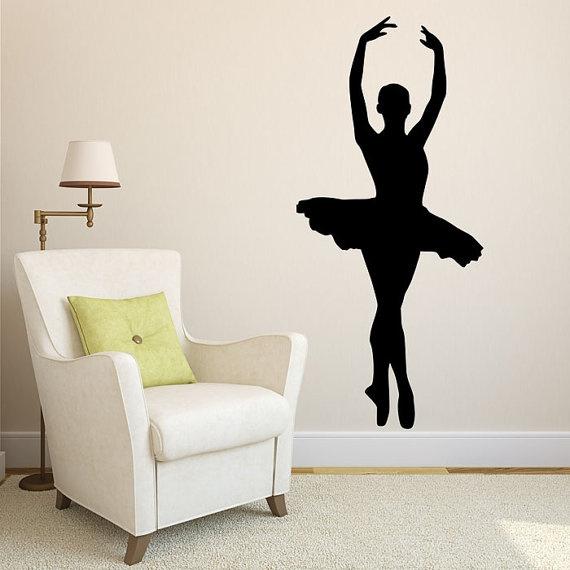 Ballet, art, kidswalldecal, Home & Living