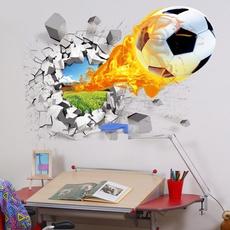 Decor, footballsticker, Wall Decal, Football