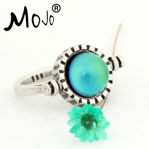 Fashion, punk style, wedding ring, jewelryspinnerring