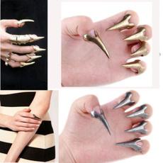 Nails, Goth, Fashion, Jewelry