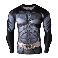 Cosplay, mensporttshirt, compression, Sleeve