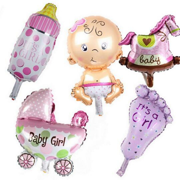party, Baby Girl, foilballoon, holidaydecoration