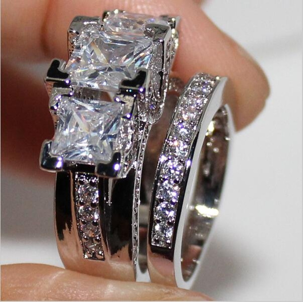 bandring, Jewelry, fashionvintagering, ringsetforwomen