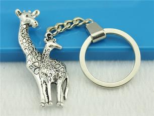 Keys, Key Chain, silvertone, keychainring