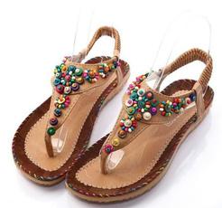 casual shoes, Flip Flops, Sandalias, Women Sandals