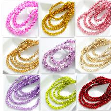 Crystal, diybead, loose beads, crystalrondellebead