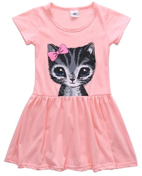 Summer, short sleeve dress, babycutedres, kidsdres