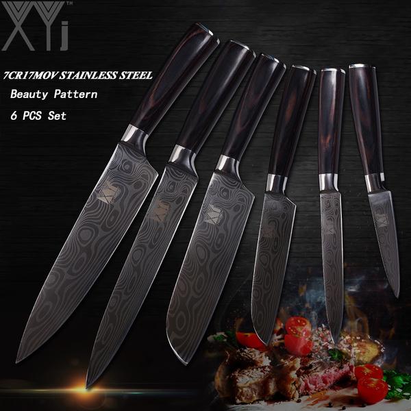 Steel, Kitchen & Dining, setknive, Stainless Steel