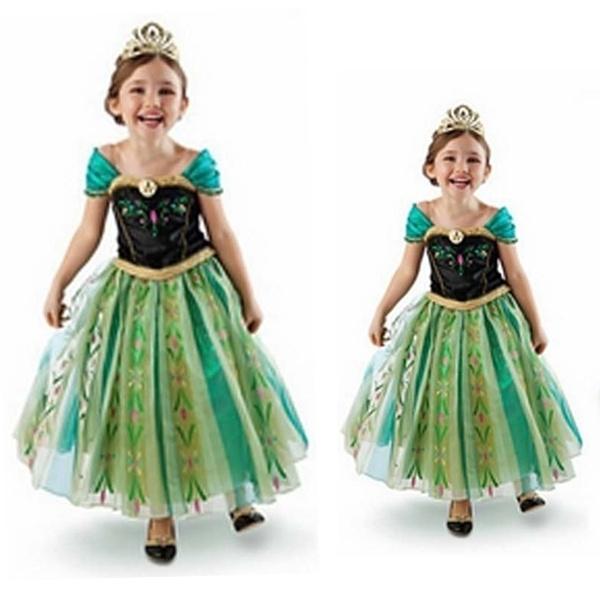 elsa dress, Cosplay, Princess, dancedres