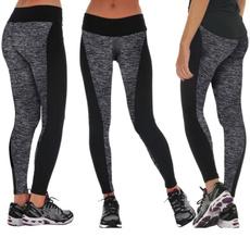Gray, Leggings, Fashion, yoga pants
