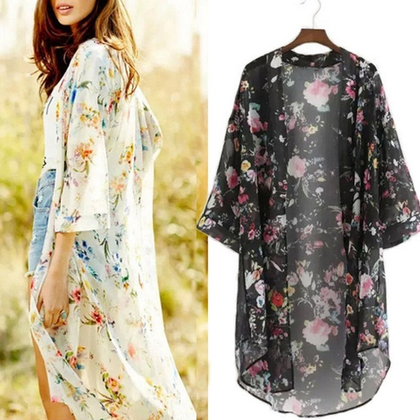 Summer, Bat, cardigan, chiffon