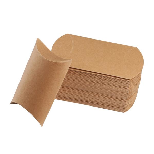 Box, pillowboxe, candybox, kraft
