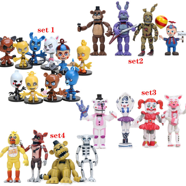 4 5 10cm Five Nights At Freddy S Plastic Action Figure Toys Models Fnaf Freddy Figures Wish