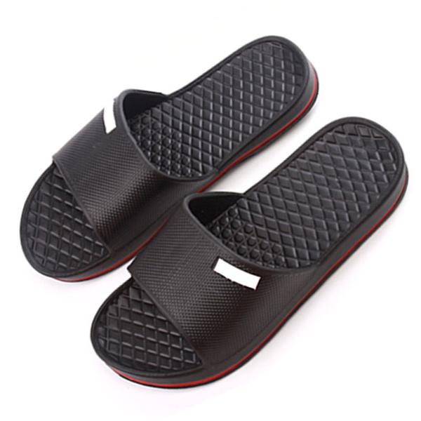 Mens Slip On Sport Slide Sandals Flip