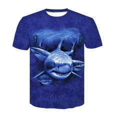 shortsleevedsweater, Summer, Shark, Fashion