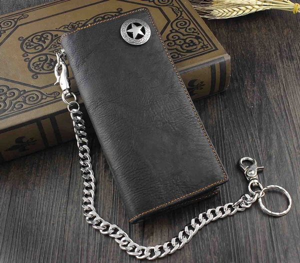 motercycle, Star, Chain, genuine leather