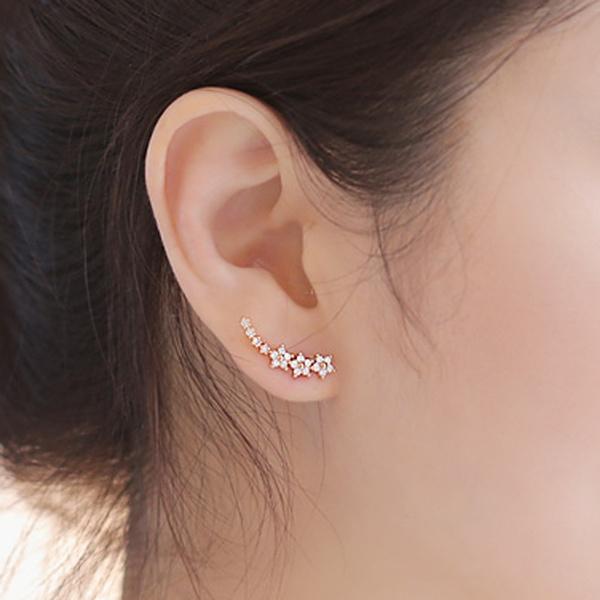 Stud Earring, starstudearring, Jewelry, Exquisite Earrings