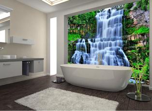 Home & Kitchen, bathtub, bathroomsticker, Stickers & Decals
