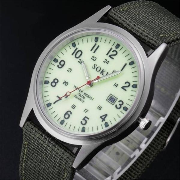 unisex watch, Waterproof Watch, canvaswatche, quartz watch