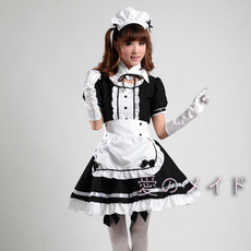 Cosplay, Black And White, Restaurant, Cartoons