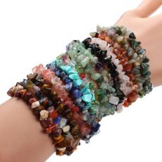 Turquoise, quartz, Rose, Bangle