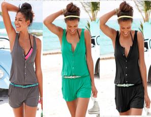 Summer, Fashion, Dress, Loose