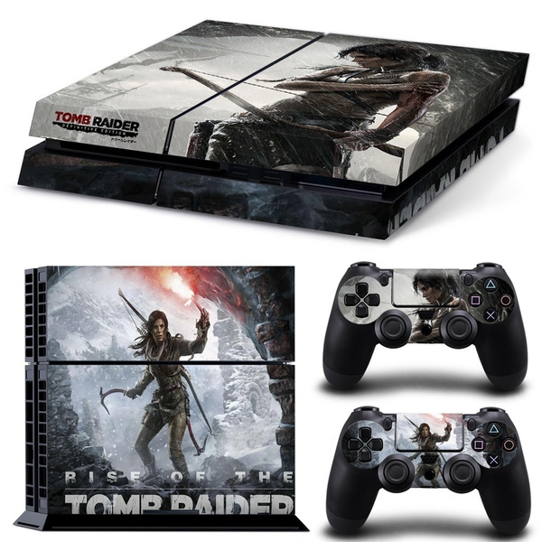tombraiderps4consoleskin, Playstation, tombraiderps4consoledecal, ps4decal