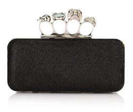 skullhandbag, purses, Elegant, Women's Fashion