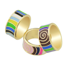 bohoring, Beautiful Ring, summerring, Colorful