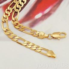 yellow gold, Chain Necklace, statement jewelry, Jewelry