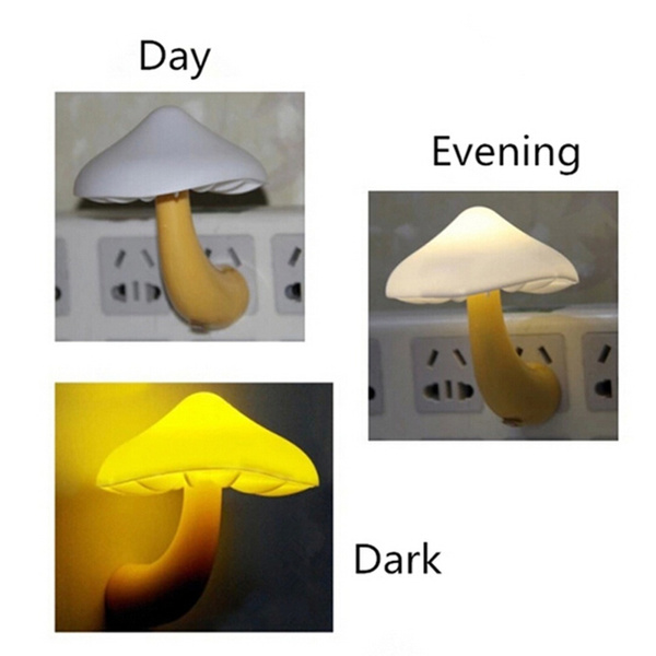 mushroomlamp, lights, Night Light, Electric