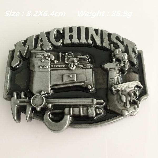 Plating, Fashion, machinistmetalbeltbuckle, Gifts