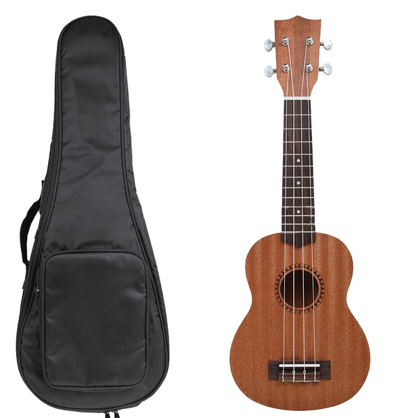 sapeleukulele, acousticukulele, sopranoukulele, Bags