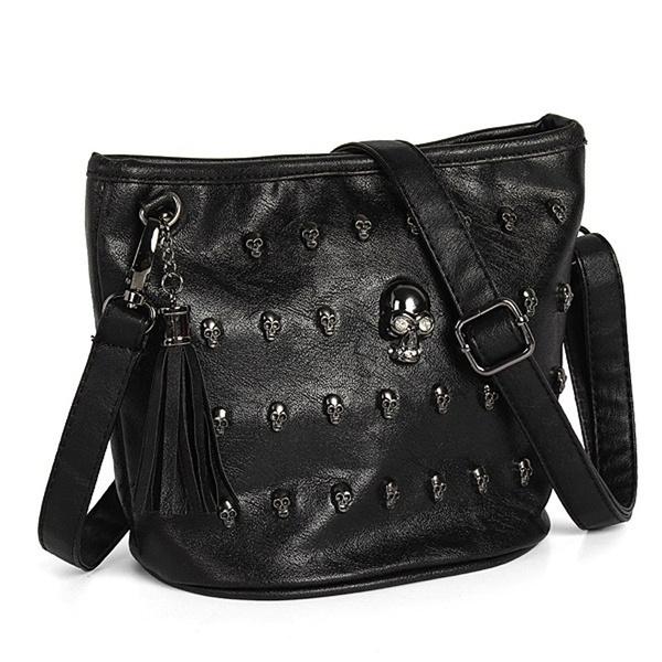 zipperbag, Tassels, Fashion, skull