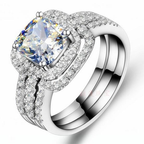 White Gold, DIAMOND, Women Ring, gold