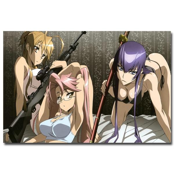 Anime  Sword Art Online Silk Fabric Poster 24X14 inch