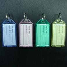 keytag, Key Chain, Colorful, luggagelabel