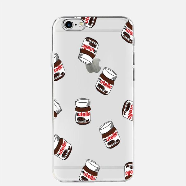 Cute Tumblr Nutella Design Transparent Silicone Cases Cover Coque For iPhone 6s case For iPhone 6 case For Samsung Galaxy   Wish