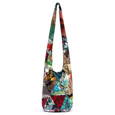 cottonbag, shoulderbagcottonladymessengerbag, Cotton, hippie