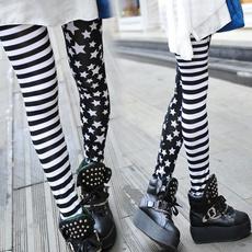 Leggings, leggingspant, Star, cotton-blend