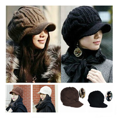 knitted, Fashion, Cotton, Winter